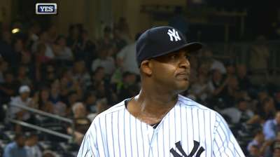 CC goes the distance, but Yanks can't back him up