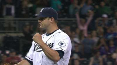 Stults gives Padres jolt to end skid vs. Rox