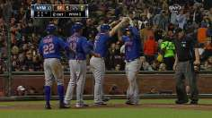 Byrd launches slam as Mets top Giants