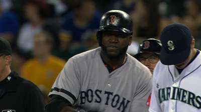 With four-hit night, Papi ties all-time DH record