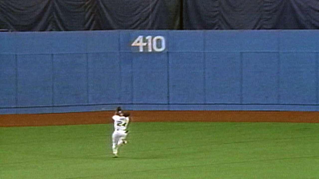 Griffey Jr.'s terrific catch
