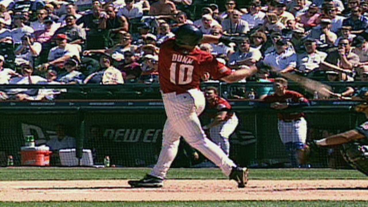 Dunn homers in Futures Game