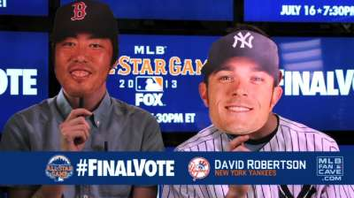 Yanks' Robertson remains second in Final Vote