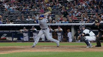 Hosmer, Moustakas locked in at plate
