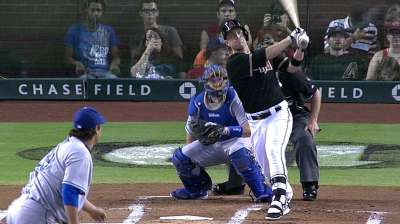 D-backs stung by Dodgers in 14 innings