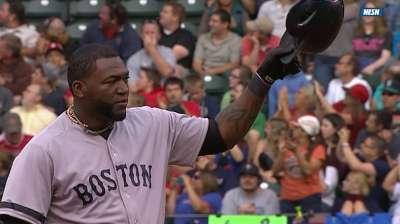 Ortiz fija récord de hits para un bateador designado