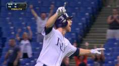 Lucky 13: Zobrist's walk-off single leads Rays in extras