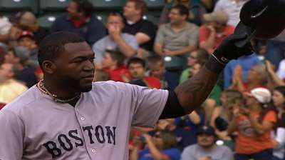 Papi wastes little time in setting DH hits record