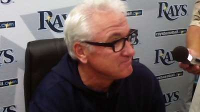 Maddon relishes chance to share learned lessons