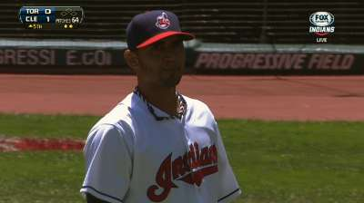 Tribe to push back Ubaldo, start Salazar vs. Tigers