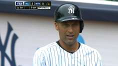 Jeter sparks Yanks, but exits with tight quad