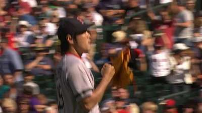 Uehara finishes fourth in AL Final Vote race