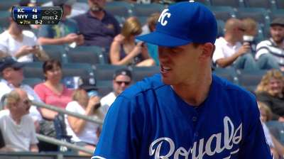 Joseph glad to get Royals debut under his belt