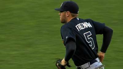 Fans' final word: Freeman voted to All-Star Game
