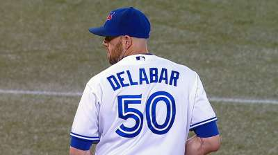 Delabar was mid-flight when he won Final Vote