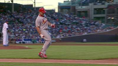 Holliday exits with tight right hamstring