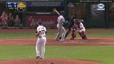 Allen masters multiple innings for Tribe's 'pen