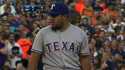 Ortiz called up to give Rangers extra southpaw