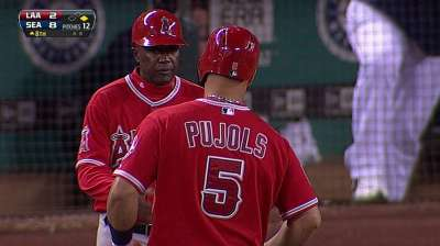 Pujols' foot is still ailing despite All-Star break