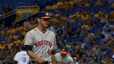 Cosart delivers dazzling debut as Astros take opener