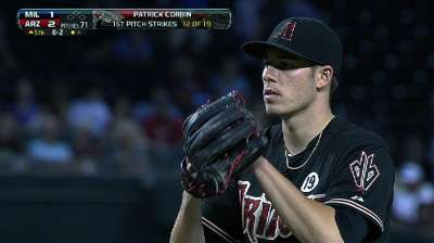 D-backs mindful of Corbin's innings count
