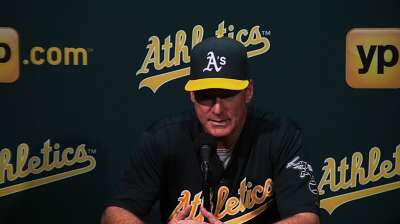 Heavy workload taking toll on A's bullpen