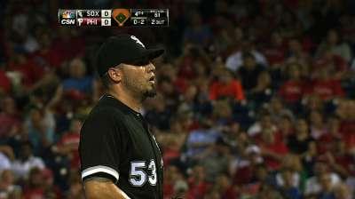 Santiago sharp, but White Sox drop nightcap in 13