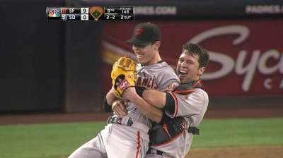 Lincecum lanzó un juego sin hit ni carrera vs. Padres