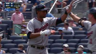 Twins turn tables on CC to take series in NY