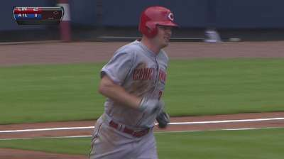 Reds take first-half finale behind pair of home runs