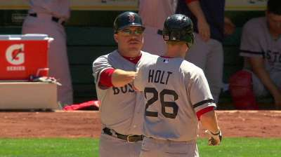 Holt, not Middlebrooks, called up by Boston