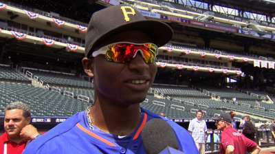 Polanco could give Pirates an unmatched outfield