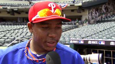 Prospect Franco heads into offseason with big dreams