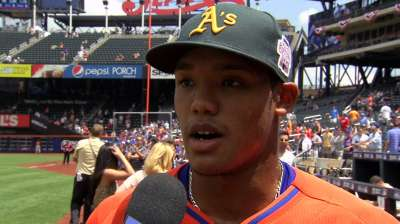 Russell, Ynoa represent A's in Futures Game