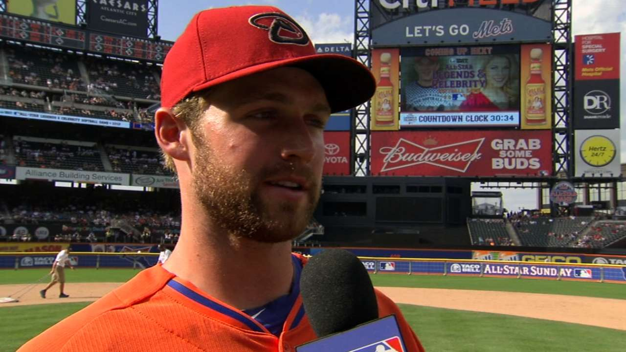 Davidson wins Futures Game MVP
