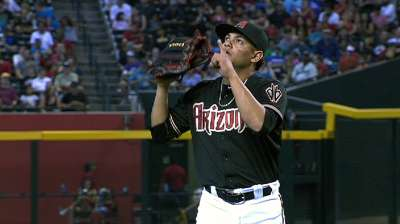 De La Rosa inspiring D-backs' confidence