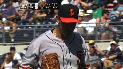 Affeldt departs with strained left groin
