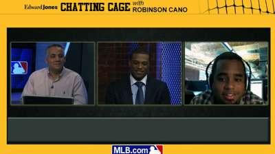 Todo un éxito el 'chat' popular con Robinson Canó