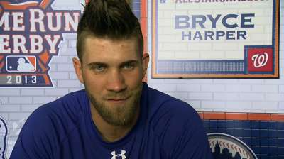 Harper, Zimmermann having 'blast' as All-Stars