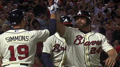 Braves overcome inconsistency, injuries in first half