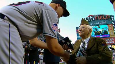 American heroes honored in All-Star Game ceremony