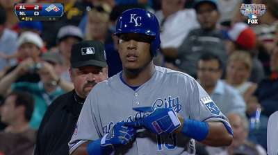 Salvy, Royals play role in AL's victory over NL