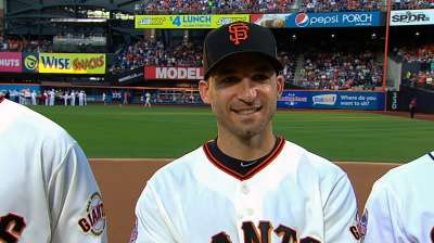 Giants All-Stars enjoy game despite inaction