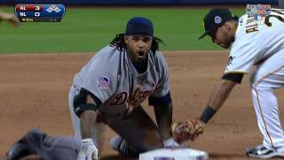 2013 ASG: Prince slides in safely with a triple