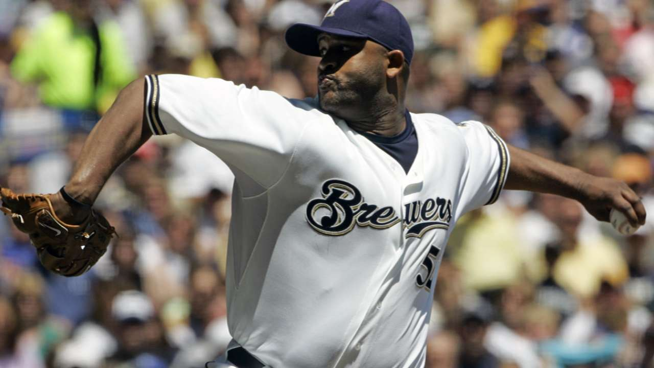 Sabathia had good time with Brewers in '08