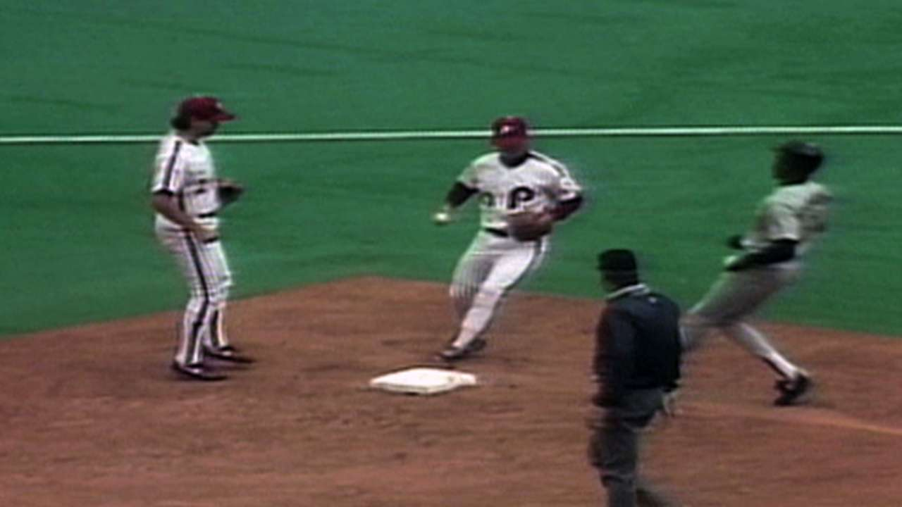 Ready nearly made history with 1991 triple play