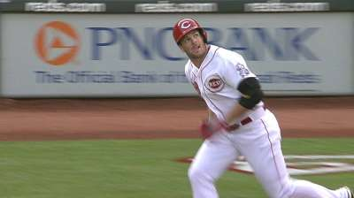 Starting fresh after injury, Heisey hot at plate