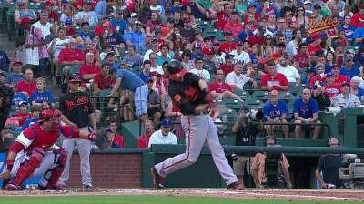 Wieters gets rare night off
