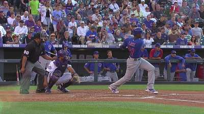 Lake makes Major League debut for Cubs