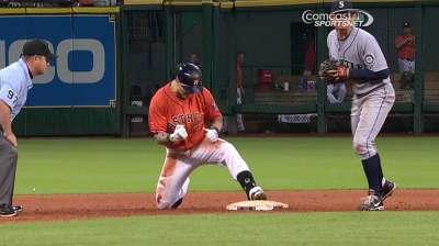 Barnes makes history, but Astros fall short